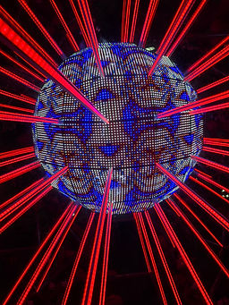 led pixel giant kaleidoscope