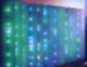 fiber optic sandblasted acrillic wall light