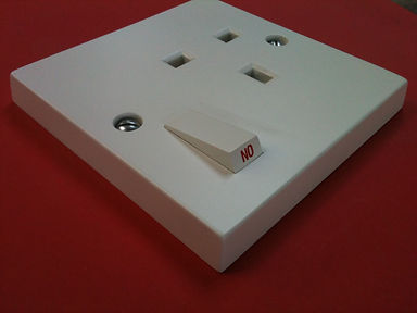 giant electric wall socket