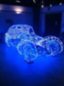 talbot lago light sculpture