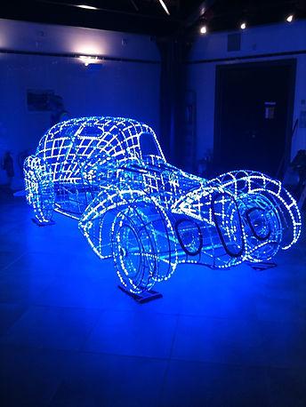 talbot lago light sculpture