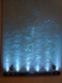 heavy sandblasted wall led wall light