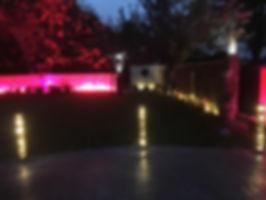 bollard patio light