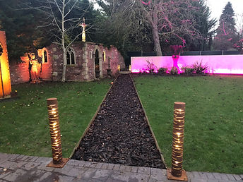 garden lighting bollard lights