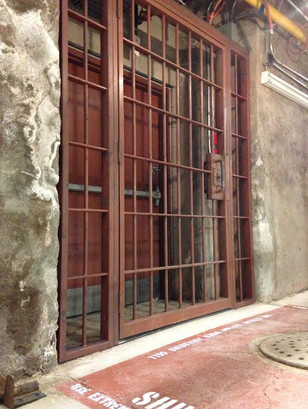 Killer Croc's Prison Cell, Exterior, Humber College Basements © 2015 - Wanda Buote.