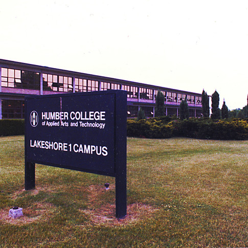 Lakeshore Teachers' College became Humber College Lakeshore Campus in 1976.   Source: Courtesy of Humber College. Retrieved from http://humber50.ca/story/lakeshore-1-campus