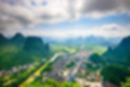 bigstock-Karst-Mountain-landscape-and-v-