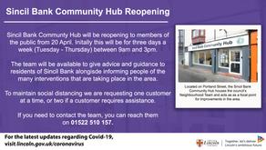 Sincil Bank Community Hub Reopening