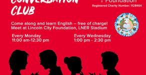 Foundation's 'Conversation Club' Classes Restart