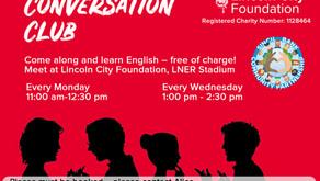 'Conversation Club' Classes Restart