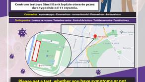 Coronavirus Testing in the Sincil Bank Area