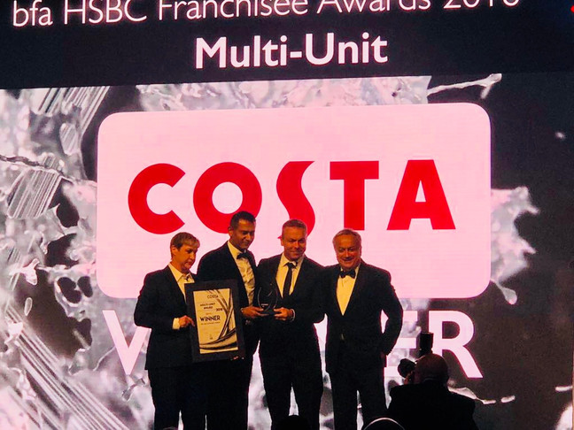 WINNER OF MULTI-SITE FRANCHISEE OF THE YEAR!! BFA-HSBC FRANCHISE AWARDS 2018