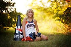 Senior Cheer Photos