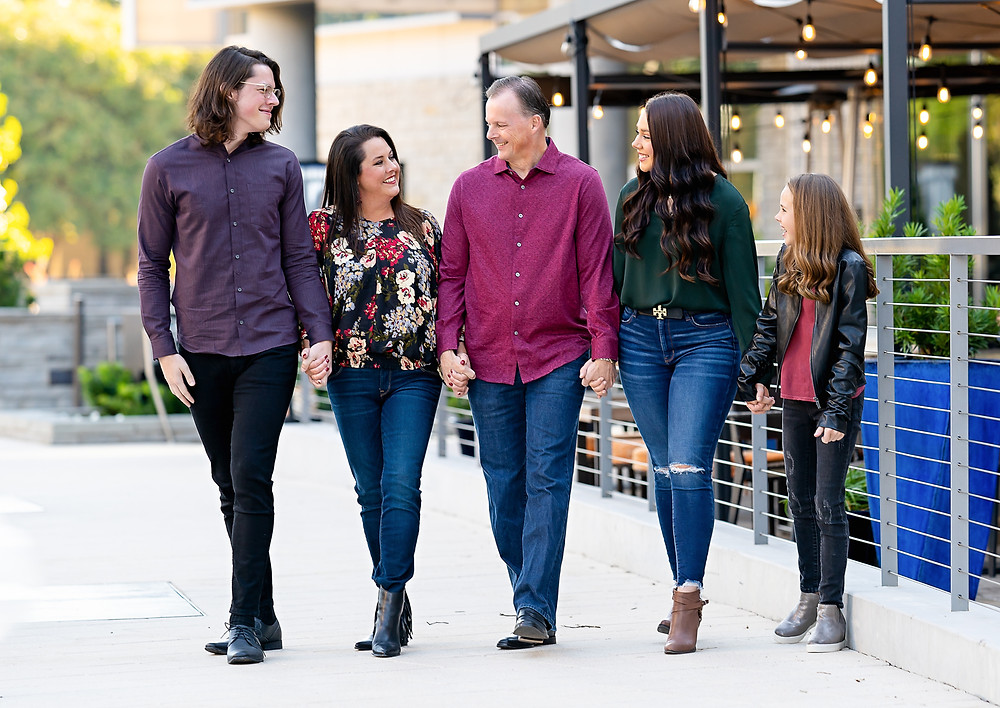 Family Photos at Legacy West