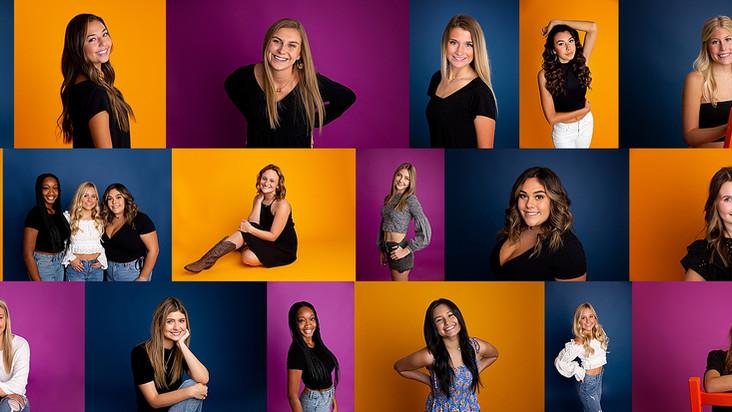 2021 Senior Team Studio Shots