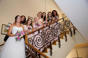 Stairway to the wedding