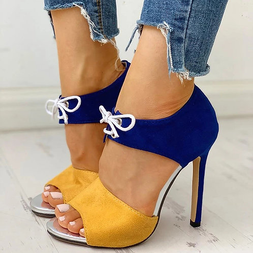 Stiletto Super Peep Toe Shoes