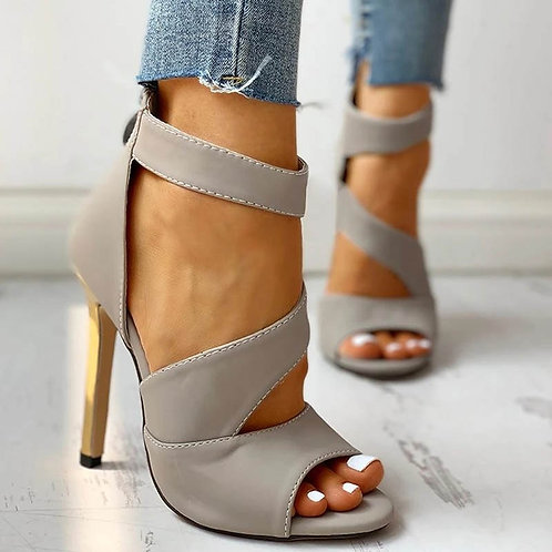 Thin High Heels  Peep Toe Sandals