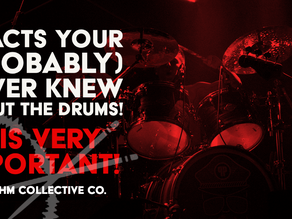 6 FACTS ABOUT DRUMS YOU (PROBABLY) NEVER KNEW! (NO. 5 IS VERY IMPORTANT! )