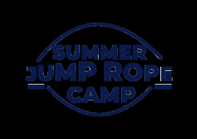 logo summer jump rope camp dunkel blau.p