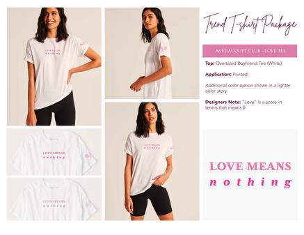 A&F Raquet Club | Love Tee