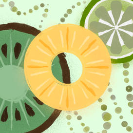 Fruit Spots: Muted | 1/3