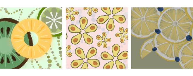 Fruit Spots | Series Collage