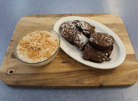 Mexican Style Pancakes with Crema De Coco
