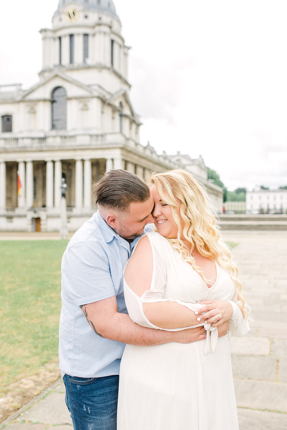 Greenwich engagement session photographer