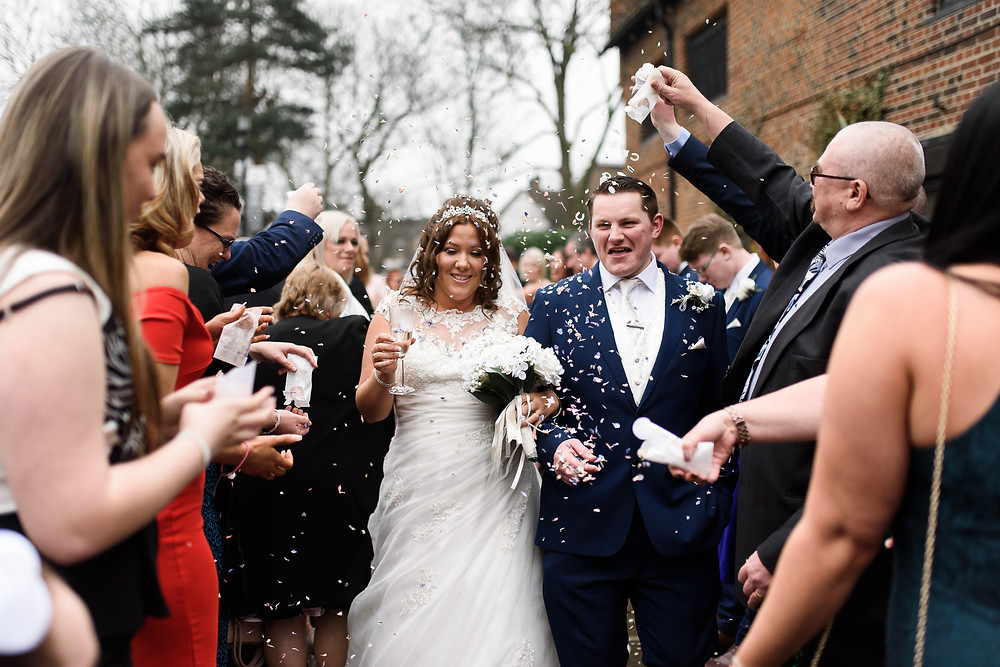 tudor barn eltham wedding photo