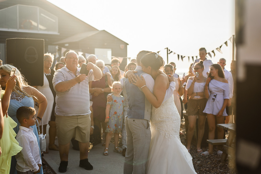 wedding at east quay venue whitstable
