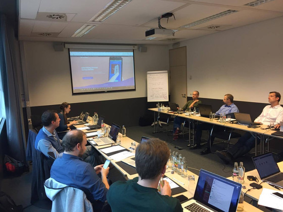 Project Consortium Meeting in Brussels