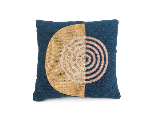 Circles Woven Pillow