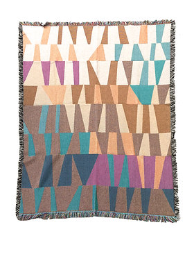 Take Five Woven Throw Blanket