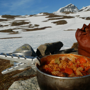 Lamb and fusilli stew