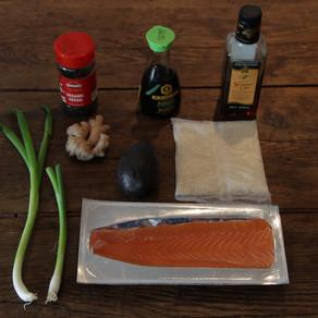 Norwegian Salmon Poke