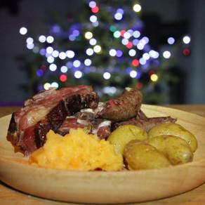 Pinnekjøtt (smoked lamb ribs) & Mashed Rutebega