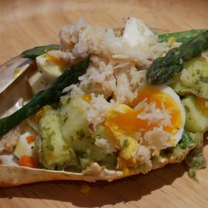 Temperate Crab Salad