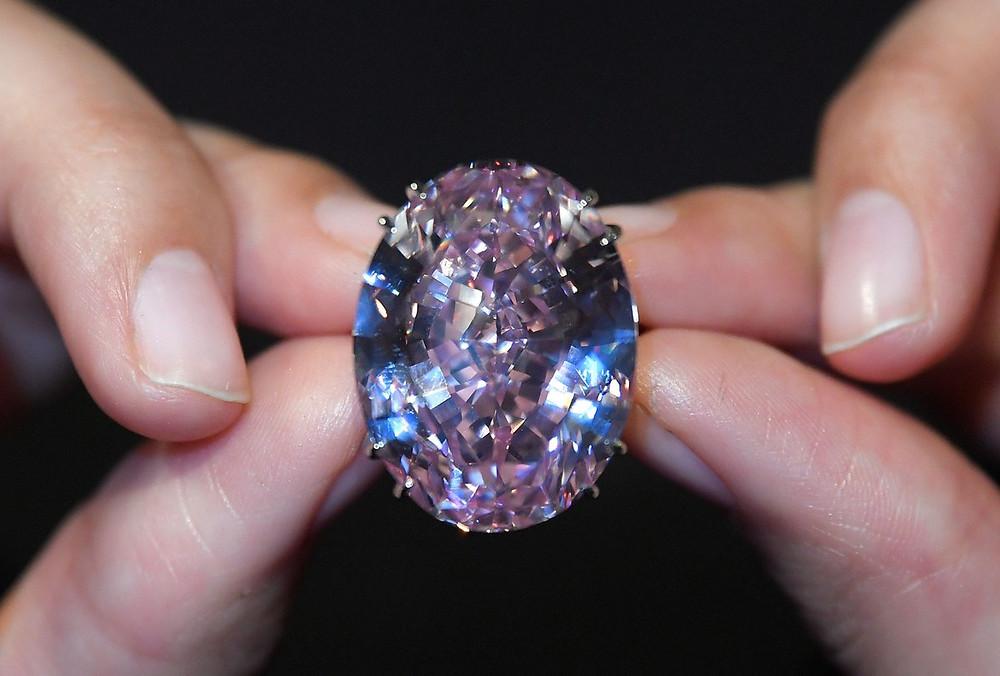 the pink star نجمة الماس الوردي