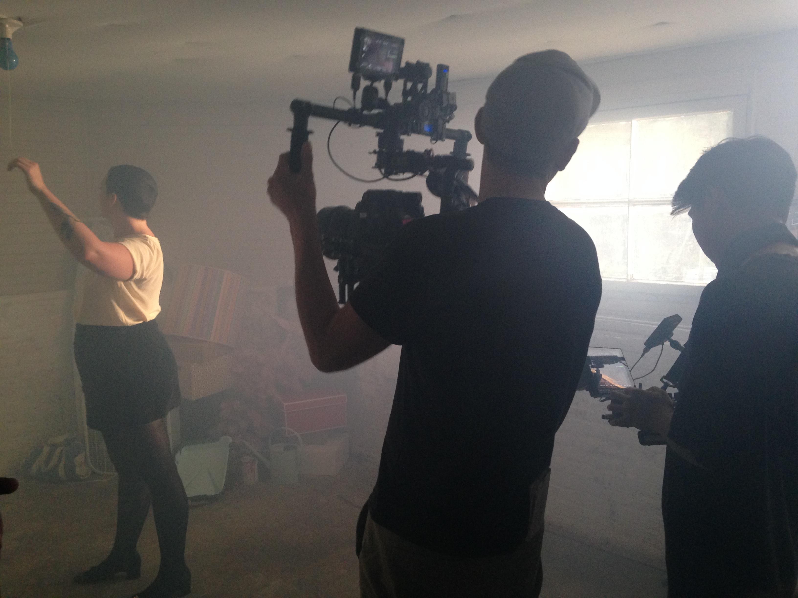 Allison Crutchfield Music Video BTS