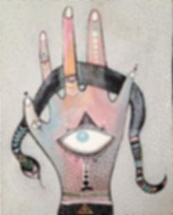Serpent Power, Snake Medicine, Divination,Third Eye,Witch Hand,Healer Hand