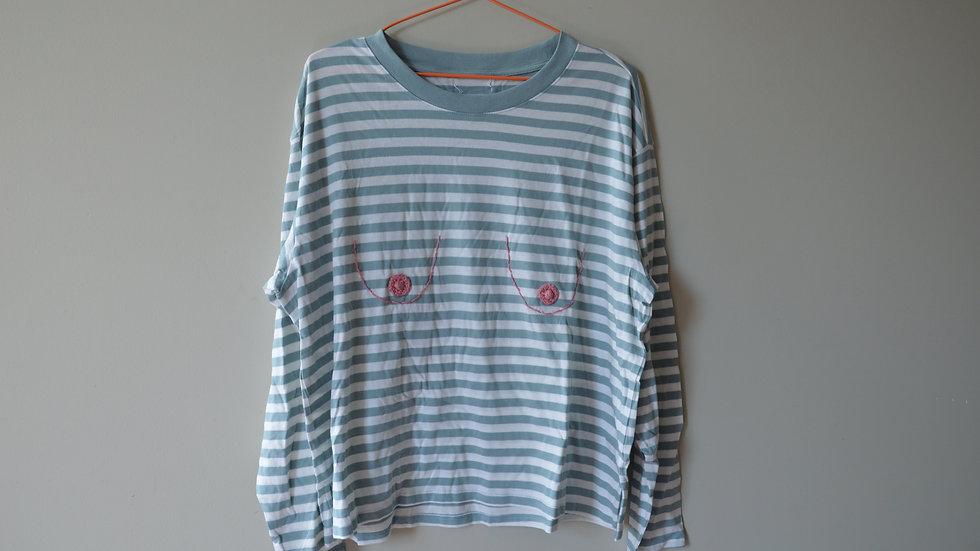 Saggy Titty Long Sleeve T-Shirt