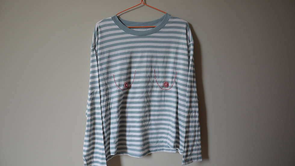 Saggy Boob T-Shirt (Long sleeve)