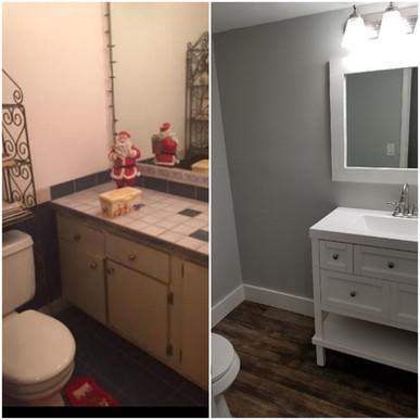 Half Bath Remodel