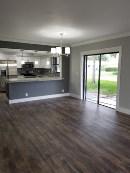 Opening and Kitchen remodel