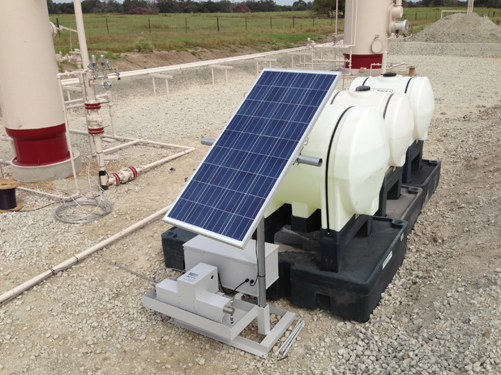Model SSE Solar Installation