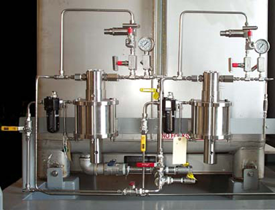 Model SP-6; High Pressure Pneumatic