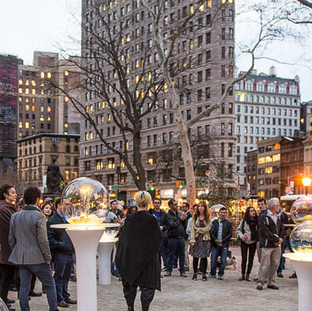 Paula Hayes Hyphen Hub Salon in partnership with Madison Square Park Conservancy