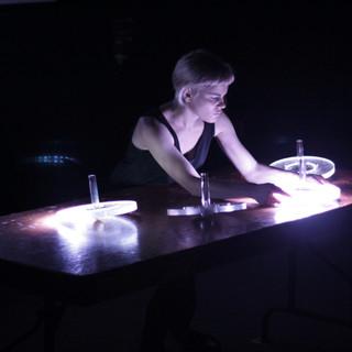 Myriam Bleu performing