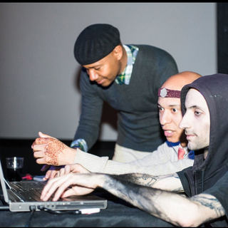 Artists/ Performers Marco Donnarumma, DJ Spooky and collaborator